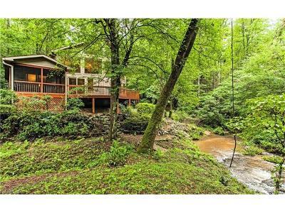 Lake Lure Single Family Home For Sale: 2033 Buffalo Creek Road