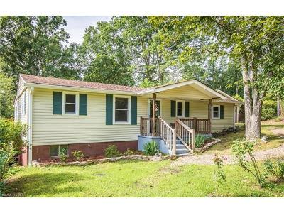 Black Mountain Single Family Home Under Contract-Show: 105 Mount Allen Heights