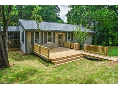Black Mountain Single Family Home For Sale: 16 Shady Knoll Lane