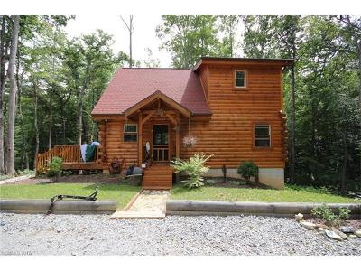 Brevard Single Family Home For Sale: 537 Cantrell Mountain Road