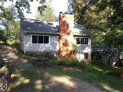 Asheville Single Family Home For Sale: 58 Hidden Falls Drive