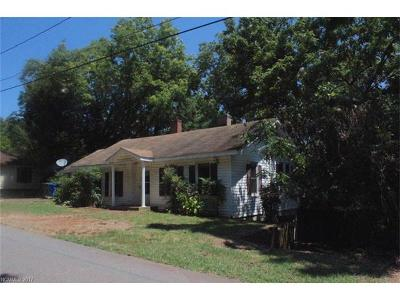 Rutherfordton Single Family Home For Sale: 244 N Meridian Street
