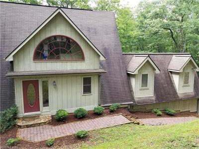 Brevard Single Family Home For Sale: 352 Tlvdatsi Drive #U-11 Lot