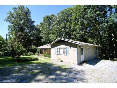 Brevard Single Family Home For Sale: 445 See Off Mountain Road