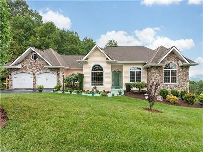 Hendersonville Single Family Home For Sale: 312 Mountain Valley Drive