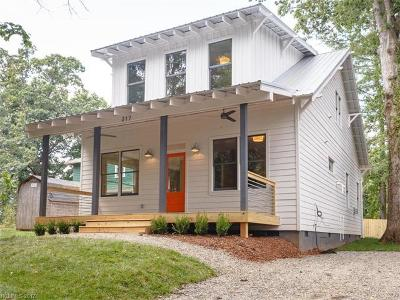 Asheville Single Family Home For Sale: 217 Brucemont Circle