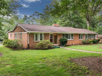 Asheville Single Family Home Under Contract-Show: 26 S Oak Forest Drive