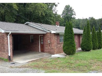 Brevard Single Family Home For Sale: 874 Rosman Highway