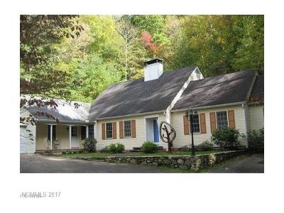 Asheville Single Family Home For Sale: 281 Webb Cove Road