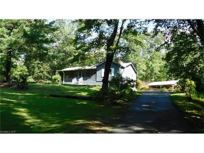 Mill Spring Single Family Home Under Contract-Show: 3286 Silver Creek Road