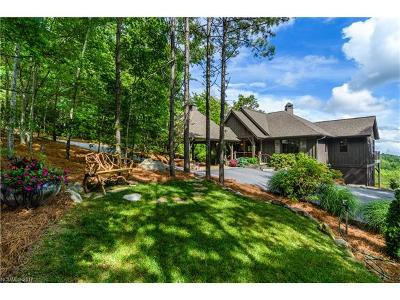 Lake Toxaway Single Family Home For Sale: 342 Hawk Mountain Road #HM-9