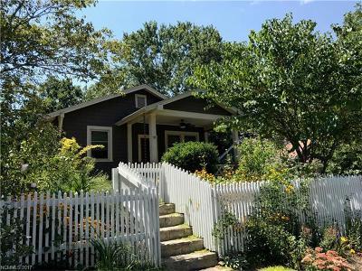 Asheville Single Family Home For Sale: 111 Coleman Avenue