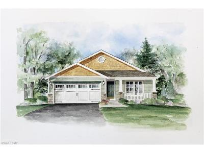 Asheville Single Family Home For Sale: Lot 45 Verde Drive #45
