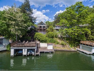 Lake Lure Single Family Home Under Contract-Show: 331 North Shore Drive
