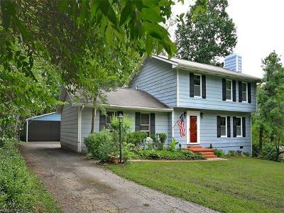 Asheville Single Family Home For Sale: 55 Keasler Road