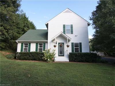Asheville Single Family Home For Sale: 29 Cliffview Drive