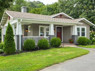 Asheville NC Single Family Home For Sale: $259,000