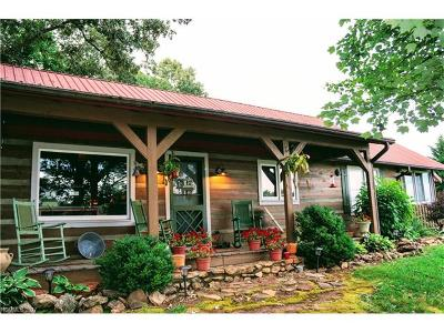 Mill Spring Single Family Home For Sale: 5911 Big Level Road