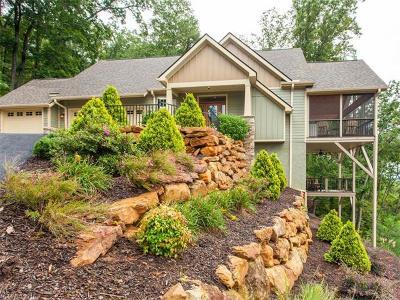 Lake Lure Single Family Home For Sale: 269 Rock Ledge Drive #217