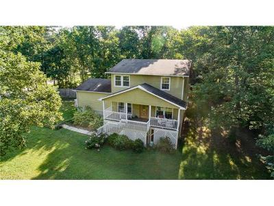 Asheville NC Single Family Home For Sale: $305,000