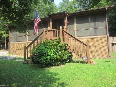 Lake Lure Single Family Home For Sale: 315 Mallard Road