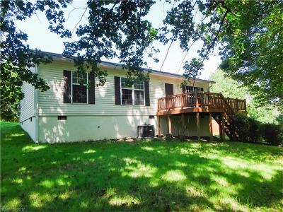 Transylvania County Single Family Home For Sale: 1274 Cashier's Valley Road