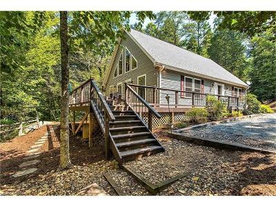 Lake Lure Single Family Home For Sale: 1981 Buffalo Creek Road #40