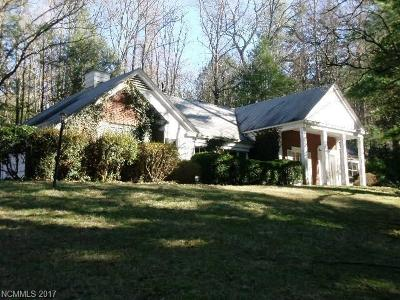 Biltmore Forest Single Family Home For Sale: 32 Cedarcliff Road