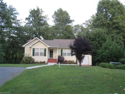 Asheville NC Single Family Home For Sale: $249,900
