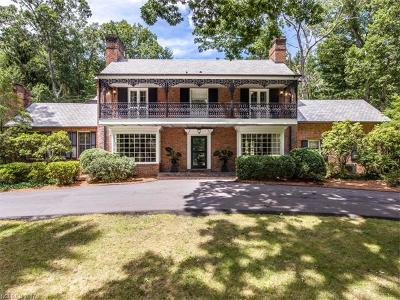 Biltmore Forest Single Family Home For Sale: 5 Park Road