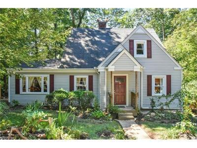 Black Mountain Single Family Home For Sale: 16 Dew Waite Road