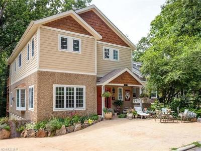 Asheville Single Family Home For Sale: 59 Westover Drive