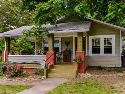 Asheville Single Family Home For Sale: 57 Indiana Avenue