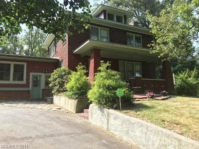 Asheville Single Family Home Under Contract-Show: 51 Houston Street