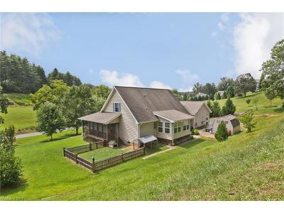Weaverville Single Family Home For Sale: 625 Brook Knoll Circle