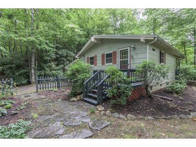 Black Mountain Single Family Home For Sale: 119 Lakey Gap Acres
