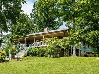 Lake Lure Single Family Home For Sale: 2150 Cedar Creek Road