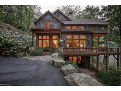 Lake Toxaway Single Family Home For Sale: 86 Lake Cardinal Cove Cove