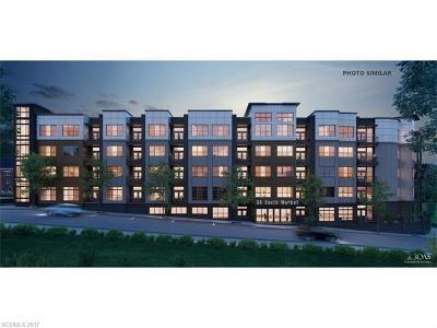 Asheville Condo/Townhouse For Sale: 55 S Market Street #201