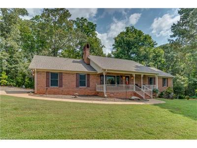 Mill Spring Single Family Home For Sale: 384 Martin Walker Road