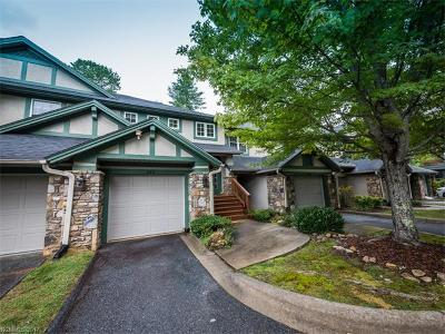 Transylvania County Condo/Townhouse For Sale: 73 Ridgetop Circle #302