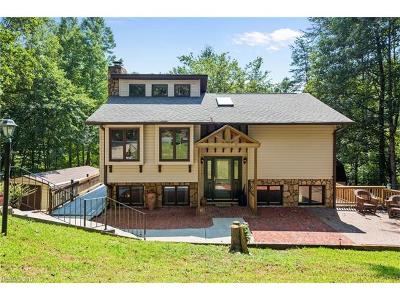 Lake Lure Single Family Home For Sale: 350 Raleigh Drive