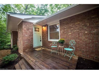 Black Mountain Single Family Home For Sale: 107 Hilltop Road