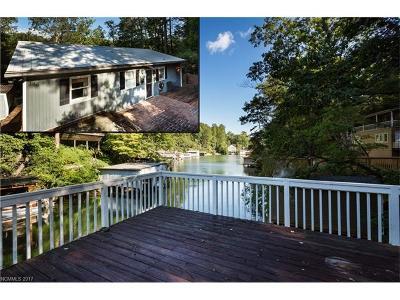 Lake Lure Single Family Home For Sale: 146 Lake Boulevard