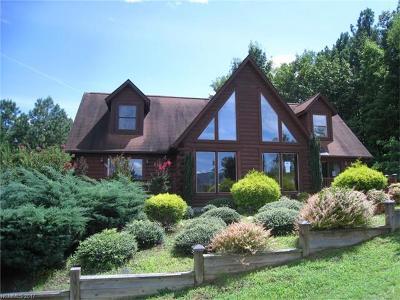 Lake Lure Single Family Home For Sale: 424 Boulder Ridge #62
