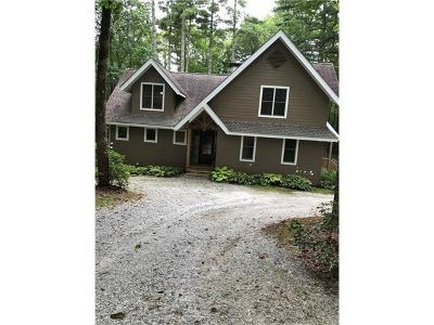 Lake Toxaway Single Family Home For Sale: 1580 Fairway Drive #Lot 45re