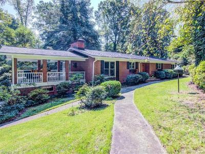 Asheville Single Family Home For Sale: 58 Forest Road