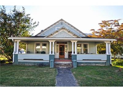 Hot Springs NC Single Family Home For Sale: $376,500