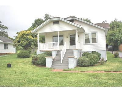Hendersonville Single Family Home Under Contract-Show: 114 Beverly Avenue