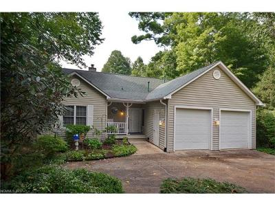 Brevard Single Family Home For Sale: 46 Red Fox Lane